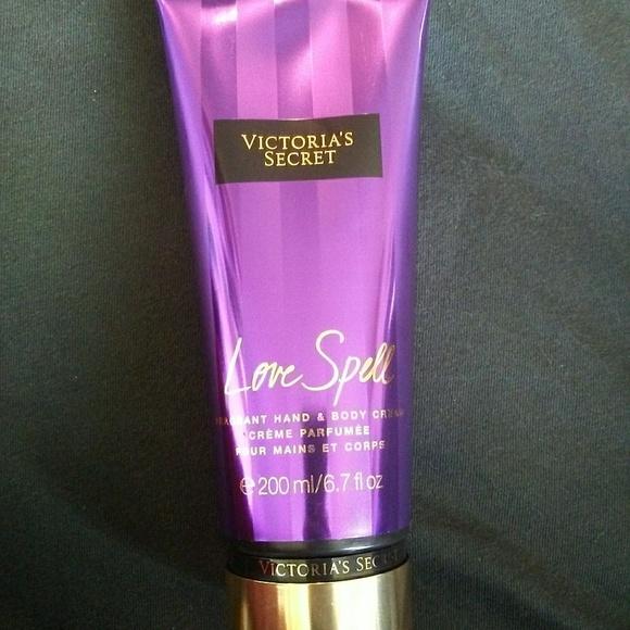 a78d71d627d4b Victoria Secret Love Spell Hand & Body Cream NWT